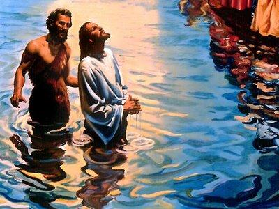 Jesús se bautiza misterios del santo rosario