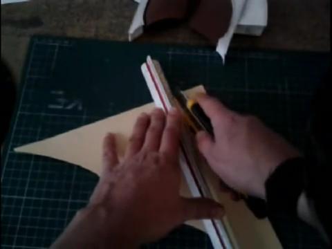 El mundo en línea recorte de cartón para maqueta humana