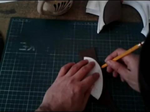 El mundo en línea bordes de papel maqueta