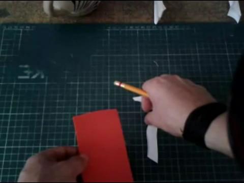 Mundo en línea maqueta con papel foamy