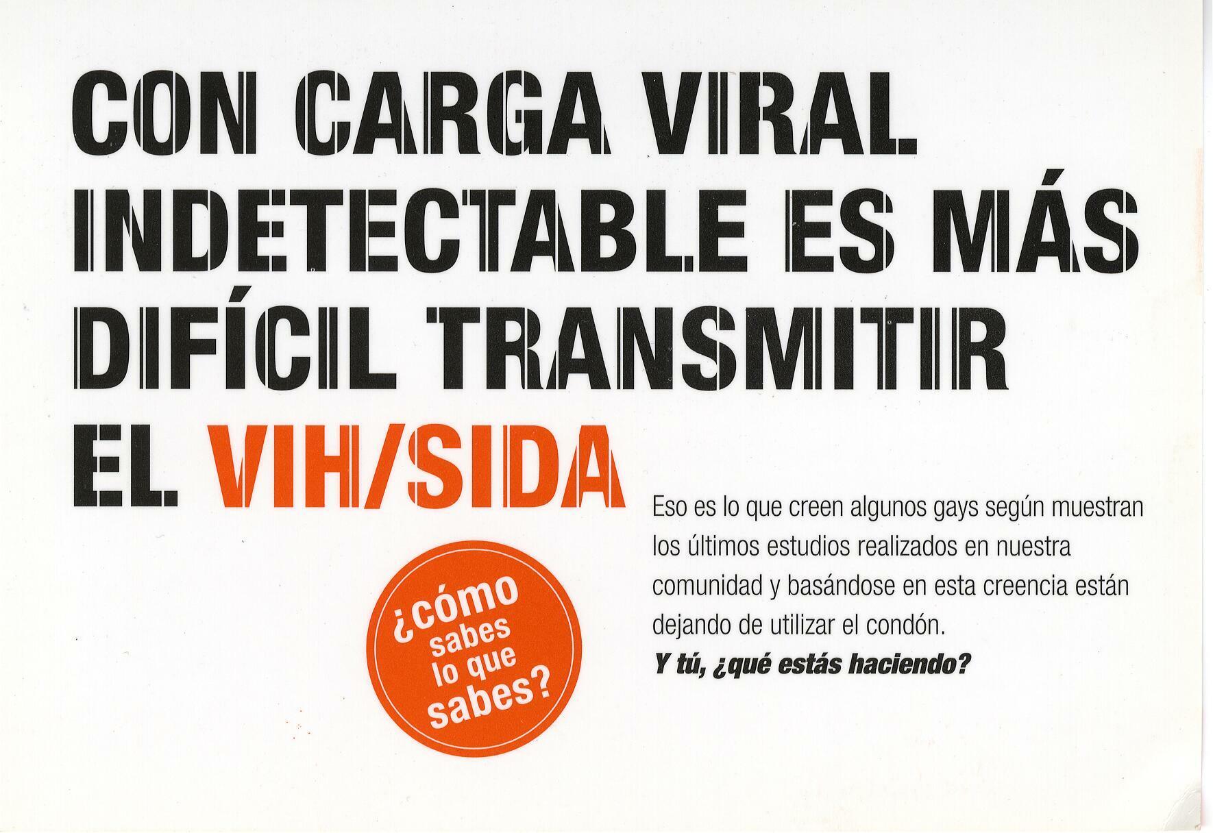 Metodos Para Detectar La Carga Viral Indetectable VIH