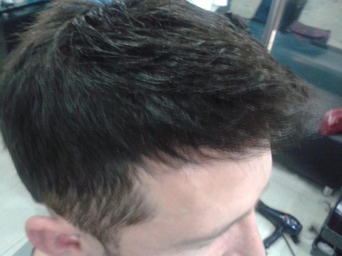 Laminirovanie el cabello con el aceite