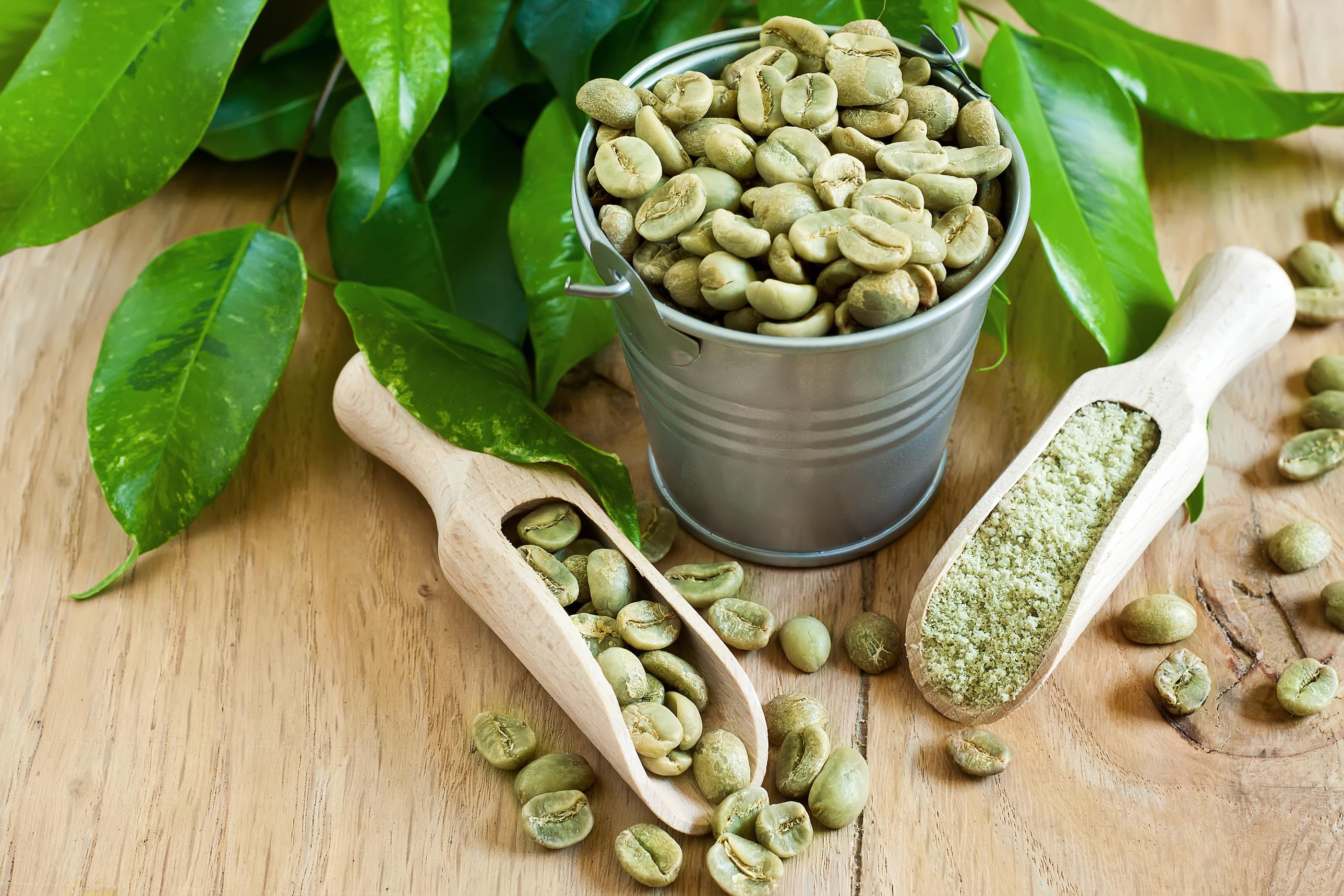 Green coffee efectos secundarios