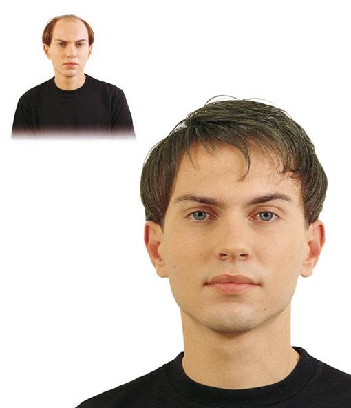 Pelucas para diferentes tipos de cabello