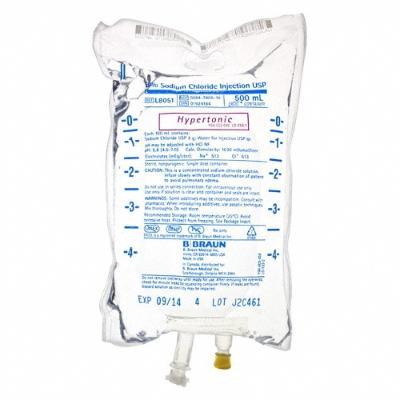 Modo de prepararla - Solución salina hipertónica preparación