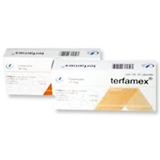 Terfamex efectos secundarios